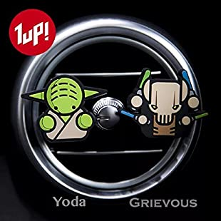 2 x Coolest Novelty Car Air Fresheners! Marvel Avengers, Game Of Thrones, Deadpool, Antman, Star Wars, Batman, Superman, Hulk, Thor, Ironman, Captain America, Black Widow, Hawkeye, Ninja Turtles...Transform Your Boring Car Into The Coolest Car In 60 Seconds! FREE DELIVERY IN 2 TO 3 DAYS! (Star Wars Yoda & Grievous) (Sweet Candy):Schedulingsoftware
