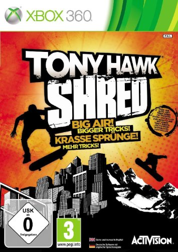 Tony Hawk Shred - Game Only  [Edizione: Regno Unito]