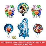 ZWYCEX Globos 20 / Conjunto de Dibujos Animados Dragon Ball Goku Globo de la Historieta Hoja de Globos Fiesta de Feliz Cumpleaños Decorado Juguetes Infantiles Campus Party