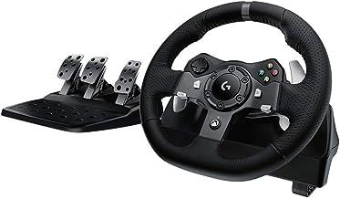 Logitech - Volante da corsa Driving Force per PS4, PS3 e PC (certificato e rigenerato) Sterzo Driving Force per Xbox One, ...