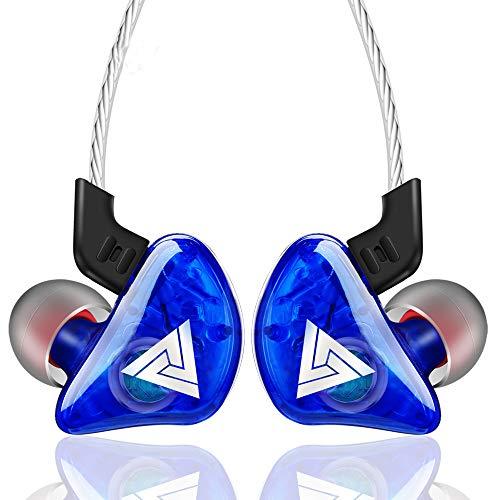 CoWalkers Audífonos con Cable, Controladores dinámicos duales Auriculares con cancelación de Ruido,…