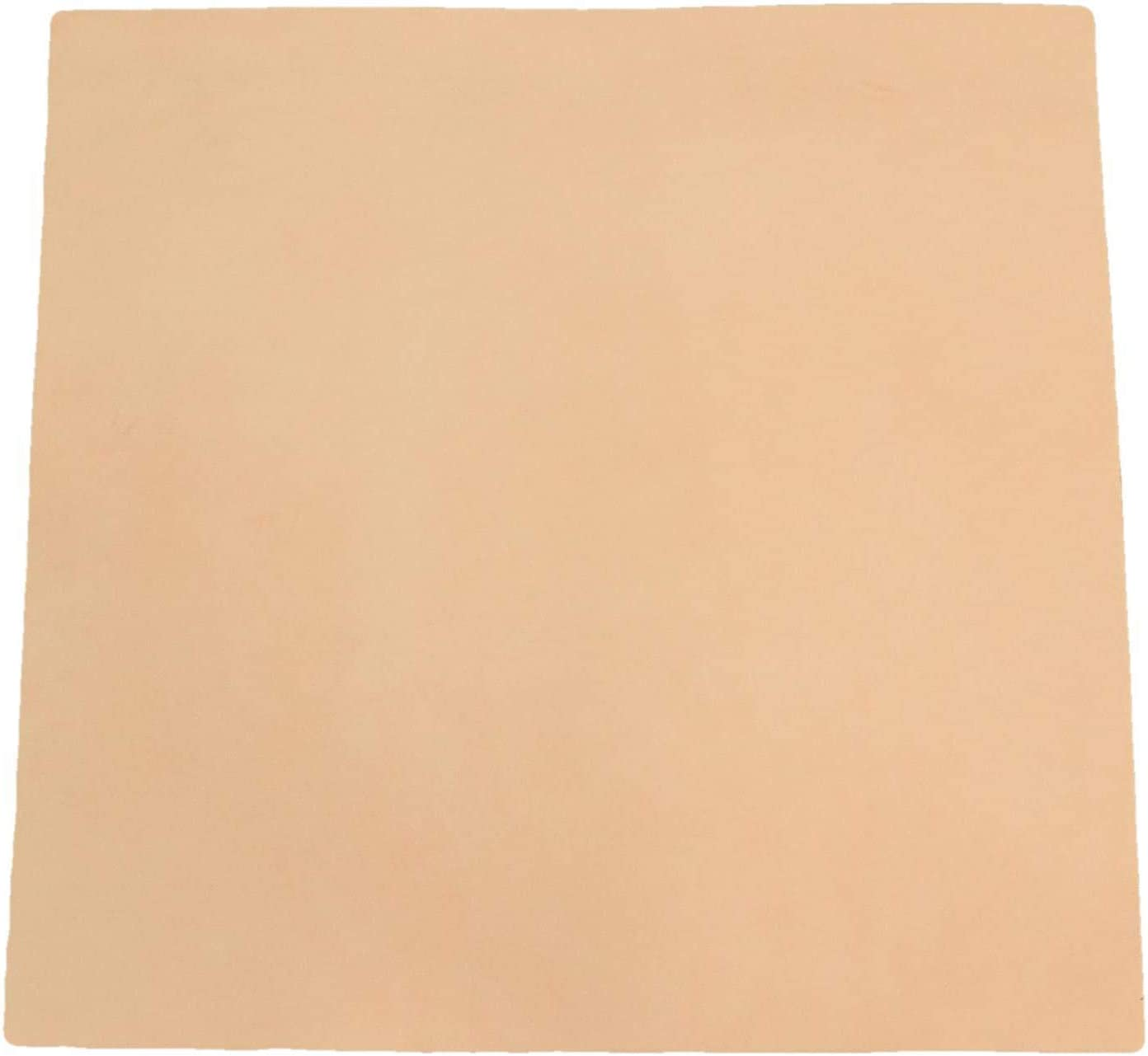 Leather 12x36 or 20x20 THICK Firm VEG tan Natural Vegetable Tanned tooling Cowhide PeggySueAlso\u2122 Choose thickness at checkout