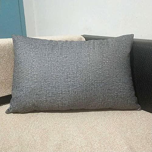 Almohada, Almohada de Diseño Ergonómico, Adecuada para Todos los Durmientes -Gris_40x60cm