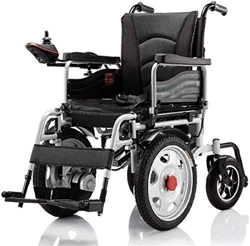 Elektrorollstuhl Elektro-Rollstuhl Folding bewegliche automatische senioren Rollstuhl behinderte Ältere Scooter Leichter faltbarer Rollstuhl leicht Aufzug for Behinderte Bequemes und sicheres Reisen