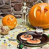 Kesote Konfetti Halloween Streudeko Party Glitter Tisch Deko Geist Spinne Kürbis Schädel Fledermaus (100g, ca. 5000 pcs) - 6