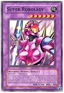 2003 Legacy of Darkness Unlimited # LOD-73 Super Robolady / Single YuGiOh! Ca...