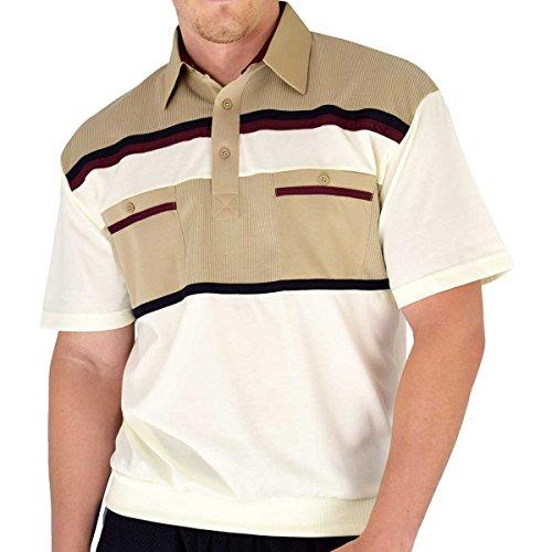 Classics by Palmland Knit Banded Bottom Shirt (XXL, Taupe)