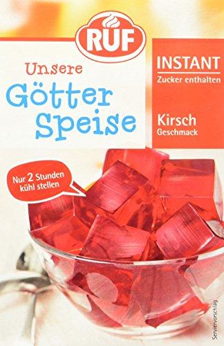 Ruf Instant Götterspeise Kirsch, 17er Pack (17 x 500 ml Packung)