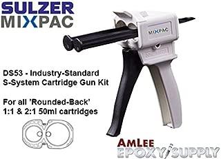 MixPac DS53 Dispenser Kit for 50ml/1.7oz S-Type Adhesives (1:1 & 2:1 Ratios)