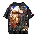 ZOSUO Unisexo Camiseta Haikyuu!! Karasuno Koukou Estampada Verano Corta Blusa T-Shirt Cuello Redondo Jersey Informal Suelto Verano Streetwear,C,XXXL