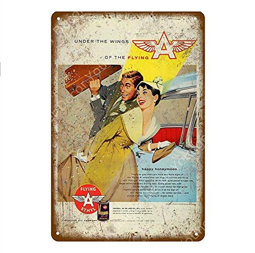 shovv Metall Zinn Zeichen Gute Gas Günstige Shop Plaque Motoröl Benzin Metall Zinn Zeichen Vintage Garage Wand Poster Bar Pub Club Home Decoration- # 005_20 * 30cm