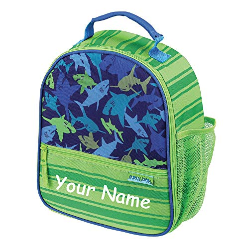 School Lunchbox Lunch Bag with Custom Name image