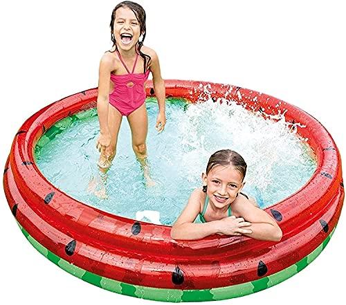 Riyyow Piscinas inflables Piscina Verde Pool Pool Sandmelon Niños Famliy Piscinas Piscina Familia Fuerte Nadar Piscina