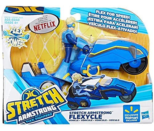 Stretch Armstrong Flexycle & Figure