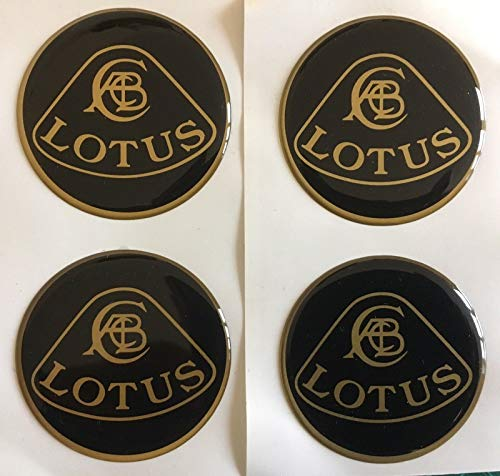 SCOOBY DESIGNS Lotus Alloy Wheel Centre Cap Stickers