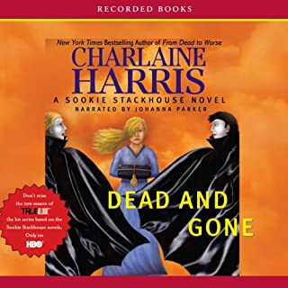 Dead and Gone: Sookie Stackhouse Southern Vampire Mystery #9 audiobook cover art