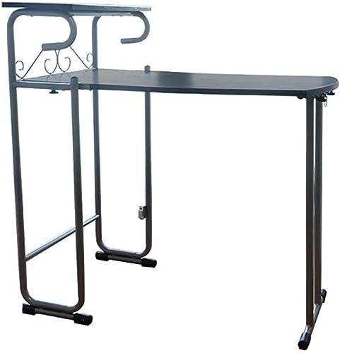 solo para ti Wghz Mesa de Comedor Plegable Multifuncional, Mesa Plegable Plegable Plegable Simple para computadora, con Dos sillas (Color  negro)  ventas de salida