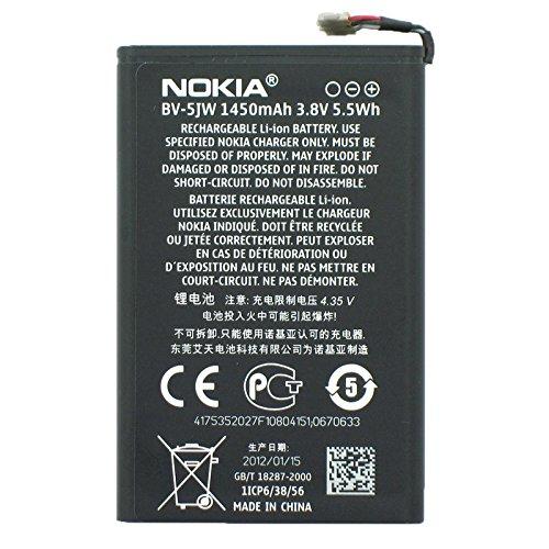 Nokia Batería Original BV-5JW Lumia 800, N9 – 00 1450 mAh