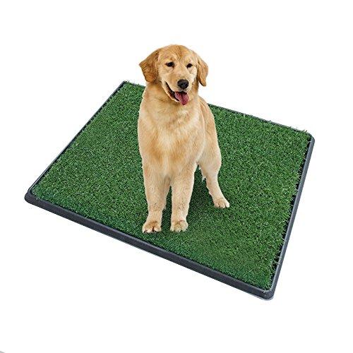 Cucciolo di cane portatile-Tappetino da allenamento Indoor-3 Layer-per WC, vasino Zoom Park addestramento per cani gatti