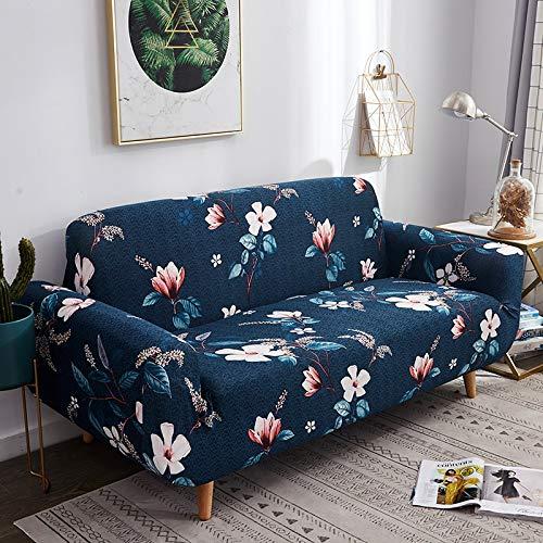 ASCV Funda de sofá de patrón de Color Universal para Sala de Estar, Funda de sofá Flexible Funda de sofá térmica A6 4 plazas
