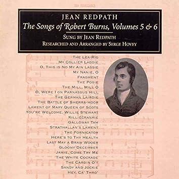Songs of Robert Burns Vol 5 & 6