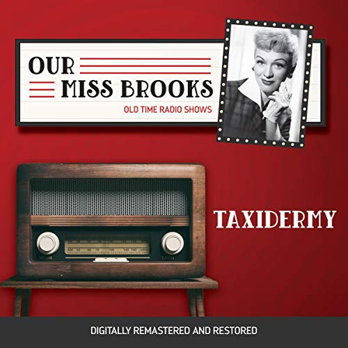 Our Miss Brooks: Taxidermy cover art