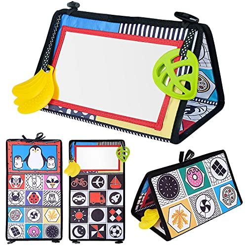 Juguete Bebe 3 4 6 9 12 Meses,Montessori Bebe Motor Skills Path Bebé 0-3 3-6 6-9 Meses Juegos Bebe 3 4 6 Meses Regalos de Nacimiento Niño Niña 0-6 6-12 Meses Juguetes Sensoriales Alfombrilla para Bebé