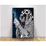 wzgsffs Lil Wayne Pop Art Hip Hop Rapper Musik Sänger
