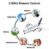 Leslaur Wltoys XK A120 modèle d'avion Airbus A380 3CH EPP 2.4G Avion de contrôle à Distance RTF Jouet