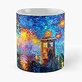 Mysterious Man at Beautiful Rainbow Place – La migliore tazza da caffè in ceramica di marmo bianco da 11 oz!