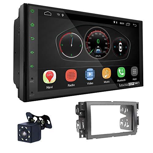 UGAR EX10 7' Android 10.0 DSP Car Radio mit 11-013 Panel Dash Instalación Fascia Kit para Chevrolet Avalanche 2007-2013; Suburban; Silverado, Tahoe