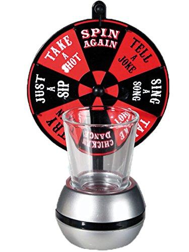 Bada Bing Trinkspiel Partyspiel Glücksrad Wheel of Shots Party Spaß JGA