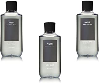 Bath & Body Works Noir 2-in-1 Hair + Body Wash Shower Gel Pack of 3