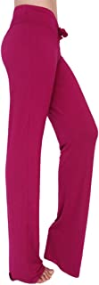 KINDOYO Ladies Trousers Casual Straight Leg Pilates Pants with Drawstring,Women Yoga Pants for Workout Joggers