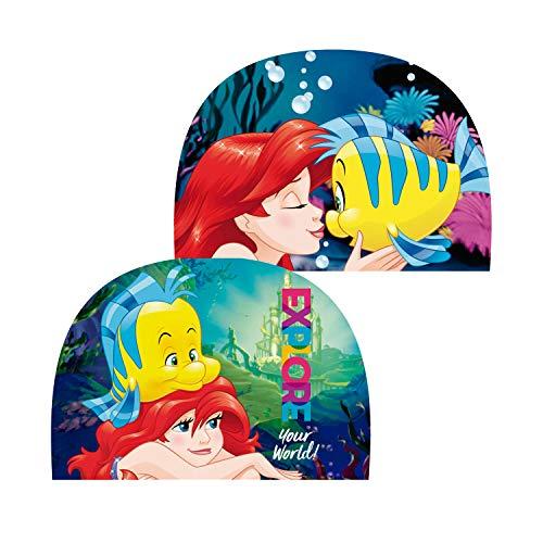 Disney WD11987 Prinzessin Kleine Meerjungfrau, Badekappe, Mehrfarbig, Einheitsgröße