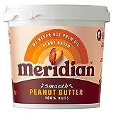 Meridian No Added Sugar & Salt Smooth Peanut Butter 1000g