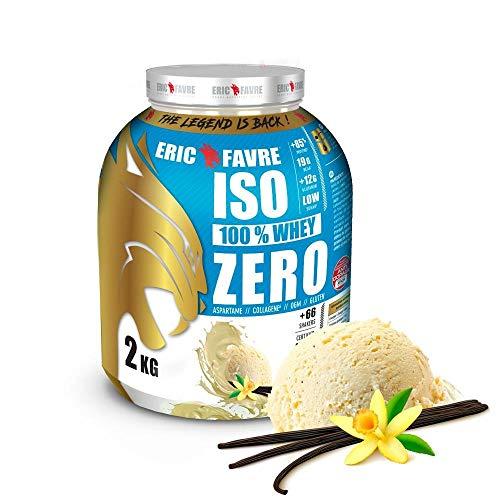 Iso Zero 100% proteína.