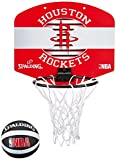 Spalding NBA Houston Rockets Panier + Ballon Mixte Enfant, Multicolore, Taille Unique