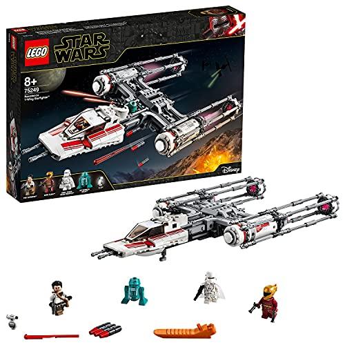 LEGO75249StarWarsCazaEstelarala-YdelaResistencia,Juguetede