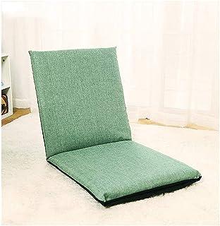 sahadsbv Chaise de Sol réglable avec Soutien du Dos, siège Pliable rembourré Confortable à Utiliser comme Chaise de Jeu, C...