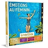 SMARTBOX - Émotions au féminin - Coffret cadeau femme - À choisir parmi 7250 activités : modelage du corps, dégustation de vin ou encore balade à cheval (nuovelle version)