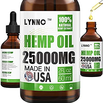 LYNNC Relief Oil- 15000MG- Lower Joint, Muscle,...
