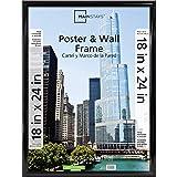 Mainstays 18x24 Trendsetter Poster Frame, Black