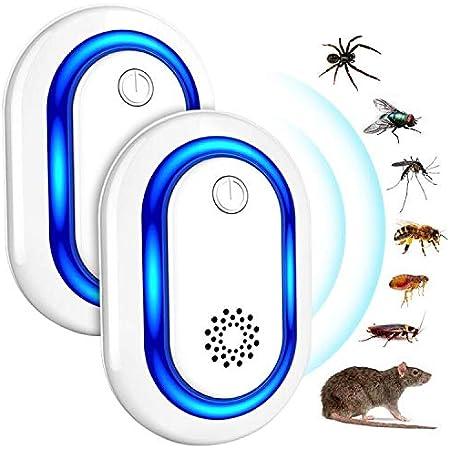moustiques insectes FITFORT 20W R/épulsif /à ultrasons pour insectes cafards 20 W rats
