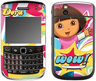 MusicSkins, MS-DORA30139, Dora The Explorer - Pop Denim, BlackBerry Bold (9650), Skin