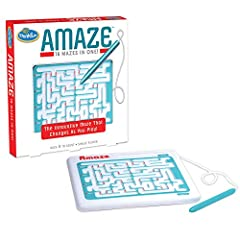 Three difficult levels Sixteen maze challenges One hand-held maze with stylus Use the attached stylus to navigate through the maze For ages 8 years and above