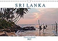 Sri Lanka, tropisches Inselparadies (Wandkalender 2022 DIN A4 quer): Endlose Straende mit Kokospalmen, historische Kultur und gruene Teeplantagen - Sri Lanka verzaubert durch seine Vielfalt. (Monatskalender, 14 Seiten )