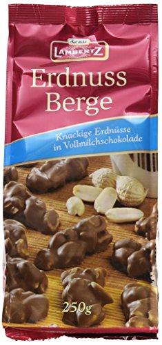 Lambertz Erdnussberge Vollmilch, 12er Pack (12 x 250 g)