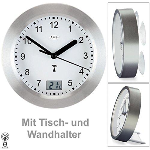 AMS Uhrenfabrik Klok, Zilver, 17 x 6 x 242 cm