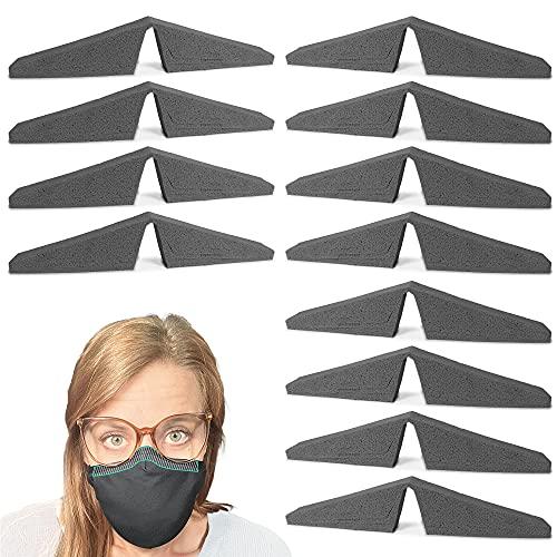 Anti Fog Foam Strip for Mask   Super Soft Foam   Easy Application Nose Seal to Prevent Glasses Fogging   Reusable   Customiziable Fit for Comfort   8-Pack